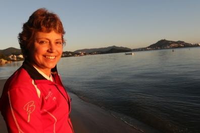 Florianopolis-sc-30.04.2017 - Isabel Cristina Nunes, conhecida como Bel, ex-jogadora de futebol e que vive hoje em Florianópolis. Foto Rafaela Martins
